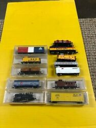 Mixed Lot Of N Scale Trains Life Like- Model Power - Others Mixed 12 Total-73-c