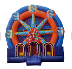 20x20x20 Commercial Inflatable Carnival Ferris Wheel 5in1 Combo Slide Bouncer