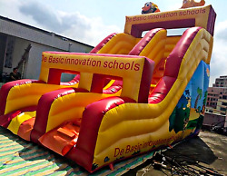 35x15x22 Commercial Inflatable Water Slide Moonwalk Bounce House Castle Jumper