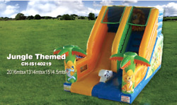 20x14x20 Commercial Inflatable Water Slide Bounce House Obstacle Course Combo