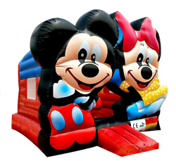 25x25x20 Commercial Inflatable Mickey Mouse Combo Bounce House Slide Castle Jump