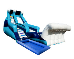 35x15x20 Commercial Inflatable Water Slide Bounce House Obstacle Course Combo