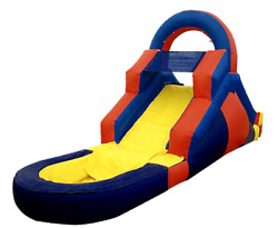 15x8x10 Commercial Inflatable Water Slide Bounce House Obstacle Course Combo