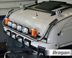 To Fit Mitsubishi Fuso Super Great Roof Bar+leds+led Spots+beacons - Type B