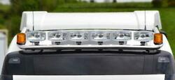 To Fit Mercedes Actros Mp5 19+ Classicspace Roof Bar+jumbo Led Spot+amber Beacon
