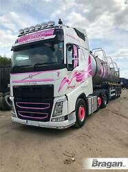 To Fit Volvo Fh Series 2 3 Globetrotter Standard Roof Bar+leds+led Spots+beacons