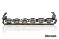 To Fit Scania 4 Series Topline Cab Roof Bar + Led Spots + Leds + Clear Beacons