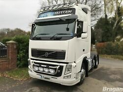 To Fit Volvo Fh Series 2 And 3 Grill Light Bar C + Jumbo Led Spots + Side Leds