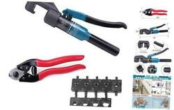 Hydraulic Wire Terminal Crimper Swager Battery Cable Lug Crimping Swaging