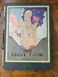 Dennison 1929 Holiday Party Book Halloween Jazz Age Decorations Costumes