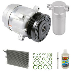 A/c Kit W/ Ac Compressor Condenser And Drier For Chevy Astro 1987-1989