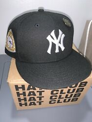 Hat Club Exclusive 7 1/8 Ny Yankees Cookies And Cream Comes With Hat Club Pin