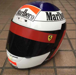 Shoei Motorcycle Full Face Helmet X-8 Alesi Size M Limited Edition Used