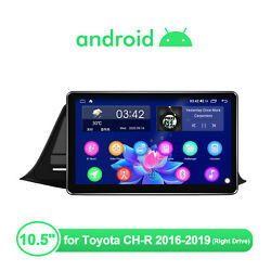 Joying 10.5 Android 10 1din Hd Ips Screen For Toyota Ch-r Navi Gps Built-in Dsp