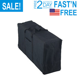 Heavy Duty Stove Carry Bag Replacement For Camp Chef 3 Burner Cookers, Black