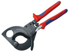 Knipex Kpx9531280 Cable Shears Ratchet Action Multi-component Grip 280mm 11in