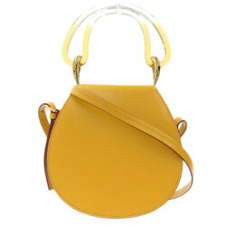 Used Marni 2019 Sold-out Products Saddle Leather Shoulder Bag