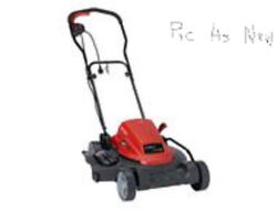 Craftsman Electric Corded Walk-behind Lawn Mower And Grass Trimmer Used