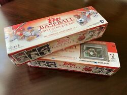 2013 Topps Baseball Complete Set Series 1and2 Lotx2 Babe Ruth New Factory Sealed