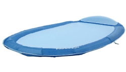 Floating Pool Hammock Water Inflatable Raft Float Lounge Chair Head Pillow Mesh