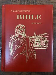 The New Illustrated Bible In Stories Royal Publishers 1970 Vintage Childrens