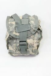 Us Army 1qt Canteen Carrier Pouch Canteen Bag Molle Ii Ucp / Acu
