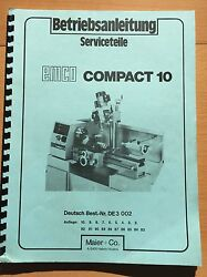 Emco Service Parts For Compact 10