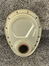 Gold Mr Gasket Timing Chain Cover Small Block Chevy Vintage Day 2 Gasser
