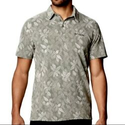 Colombia Menand039s Broadleaf Canopy Polo Shirt Large