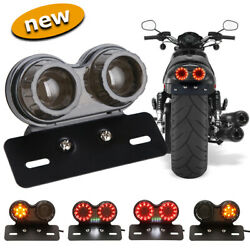 Motorcycle Led Turn Signals Brake Light License Plate Integrated Tail Light Best