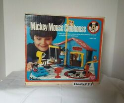 New Mickey Mouse Clubhouse Romper Room Hasbro Vintage 1976