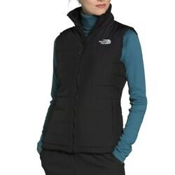 The Andnbspwomenandrsquos Mossbud Insulated Reversible Vest Black New No Tags