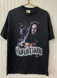 """Vintage Wwf Wrestling The Undertaker """"to Die For"""" T-shirt Sz Large Rare"""