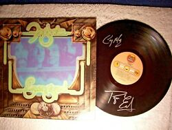 Foghat Energized Signed Autographed Record Vinyl By 2 Rare