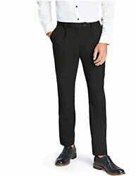 Find. Menand039s Regular Fit Pleated Formal Pant Black Black Size W36 X L29 Npdh