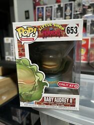 Funko Pop Movies Target Exclusive Little Shop Of Horrors Baby Audrey Ii 653