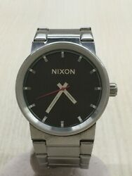 Secondhand Nixon /cannon Stainless Steel Blk Slv