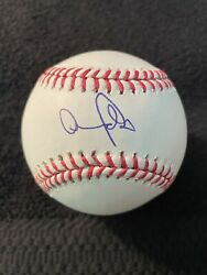 Andy Pages Signed Autographed Mlb Baseball Romlb La Dodgers Top Prospect