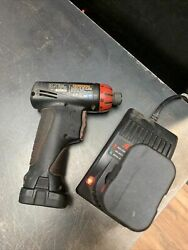 Snap-on 1/4 7.2v Cordless Screwdriver, 2 Batteries, And Charger