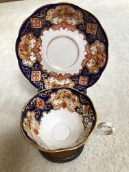 Royal Albert Heirloom Tea Cup And Saucer With Stand