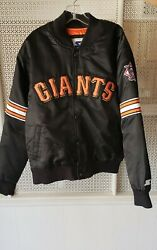 Youth Starter San Francisco Giants Quilted Jacket 14/16