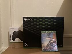 Xbox Series X Exclusive Bundle With 2 Games, 2 Controllers And Game Pass