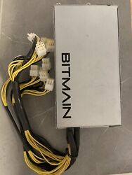 Used Apw3++ Psu 1600w Power Supply For 🔥 Antminer S9 S7 L3+ 110v 220 From Usa