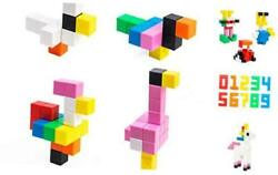 32pcs 1.3 Inches Large Magnetic Cubes Building Blocks Toys For Kids Preschool