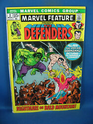 Marvel Feature 2 Vf 2nd Defenders 1972