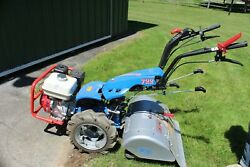 Bcs 722 Harvester Two Wheel Tractor And 26 Rear Tine Tiller