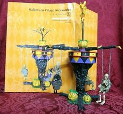 Department 56 Halloween Animated Accessory Swinging Ghoulies