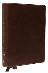 Nkjv Journal The Word Bible/large Print-brown Bonded Leather
