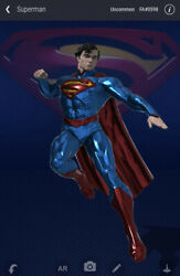 Superman Nft Veve Man Of Steel - Series 1 598 /8888 -- Sold Out Low Rare