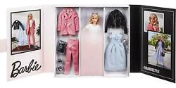 Barbie Signature @barbiestyle Fully Poseable Fashion Doll 12-in Blonde With 2